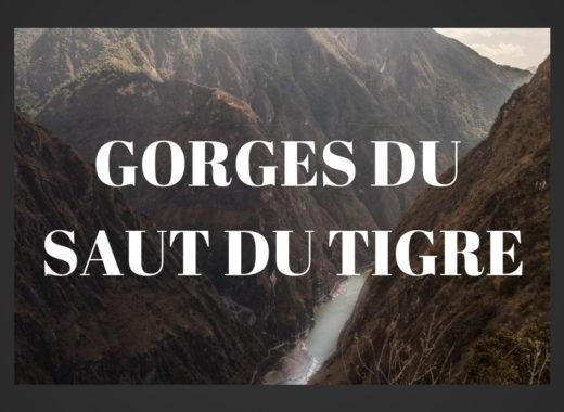 Gorges saut du tigre