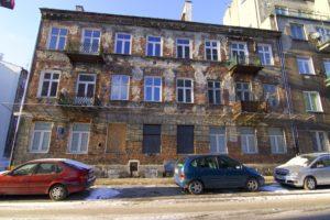 Immeubles anciens Praga Varsovie